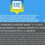 Otvorene prijave na radionicu: Razvoj društvenog kapitala i modeli partnerstva u lokalnoj zajednici