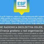 Online radionica: Modeli uključivanja građana u rad organizacija civilnog društva