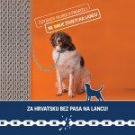 Peticiju o zabrani držanja pasa na lancu potpisalo više od 40.000 ljudi