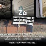 Kino klub Sisak prikupio nešto više od 19 tisuća kuna