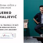 Književna večer u Dnevnom: Jerko Mihaljević