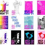 Otvoren javni natječaj za odabir plakata Split Pridea 2021.