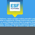 ESF platforma: Otvorene prijave na dvije online radionice u lipnju