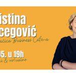 Društveno poduzetnički event s Kristinom Ercegović
