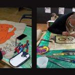 Street art radionica i izložba u dvorištu karlovačkog Društvenog centra MUZA
