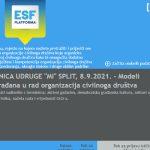 Online radionica udruge MI: Modeli uključivanja građana u rad organizacija civilnoga društva