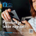 Plavi telefon: 130.000 poziva u 30 godina rada