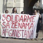 Hrvatske udruge pridužile se globalnoj akciji podrške i solidarnosti sa ženama iz Afganistana